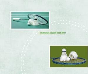 Start badminton seizoen 2019-2020